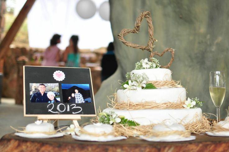 ponque de bodas