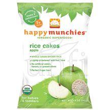 Happy Munchies, Munchies, Rice Cake, Apple, 10/1.41 Oz