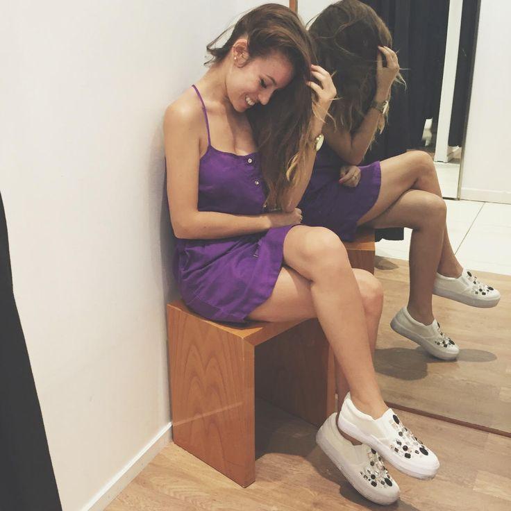 """""""Una giornata di shopping allietata da questo stupendo abitino #OVS"""" #OVSJOURNEY #OVSPEOPLE ERIKA BARBATO"""