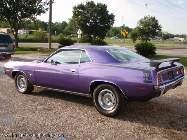 Superieur In Violet 1970 Plymouth Barracuda