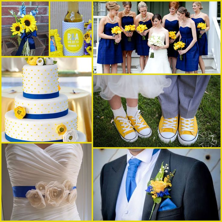 Blue And Yellow Wedding Ideas : Best ideas about canary yellow weddings on