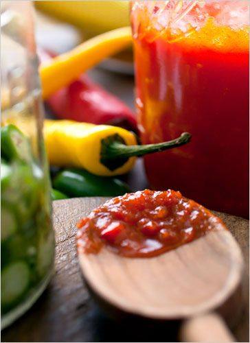 No House Party is complete without Hillary's favorite condiment: Hot Sauce! Learn how to make your own with this recipe from The New York Times.