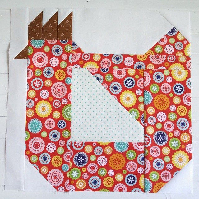 507 best Quilts - Birds/'Bird' Blocks images on Pinterest | Bird ... : chicken quilt block - Adamdwight.com