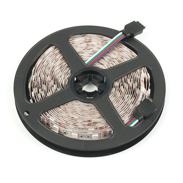 Waterproof LED Strip  DC12V 5m 5050 60LEDs/m Flexible LED Light RGB/Blue/Green/Red/White/Warm White/Yellow Free shipping  #Affiliate