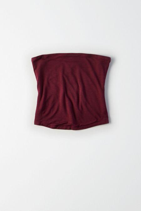 AE Soft & Sexy Strapless Crop Top