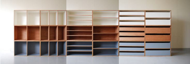 Lauan Shelves 2011, designed by Luft in Tokyo