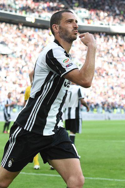 Leonardo Bonucci of Juventus FC celebrates after a goal during the Serie A match between Juventus FC and UC Sampdoria at Juventus Arena on May 14, 2016 in Turin, Italy.