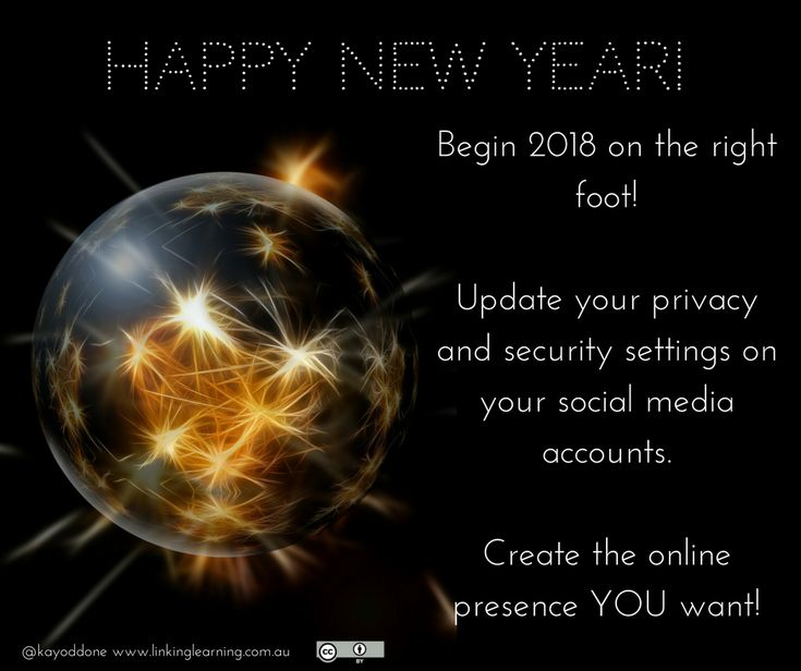 Make 2018 your #bestyearyet. Build an effective #digitalfootprint you are proud to promote! I have loads planned for LinkingLearning in #2018 - stay tuned! #education #learning #digitallearning #connectedlearning #PhD