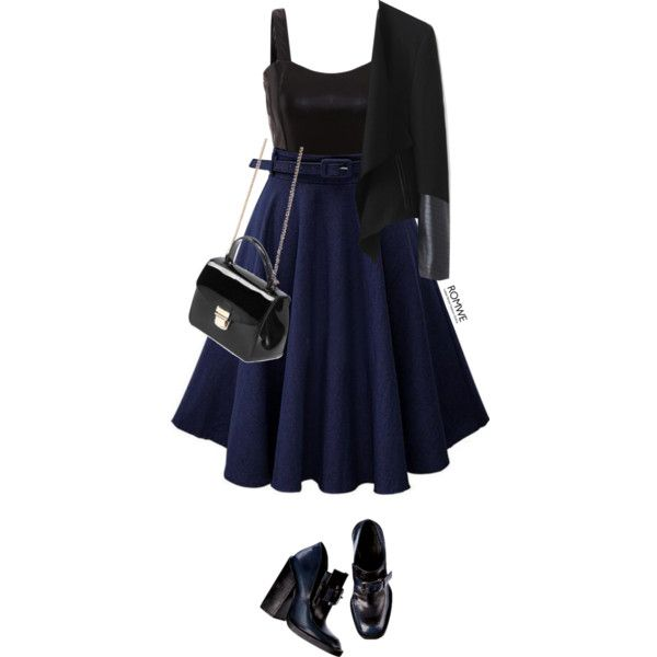 Romwe #9 VIII by oliverab on Polyvore featuring Jil Sander, fashionista, romwe and gothic