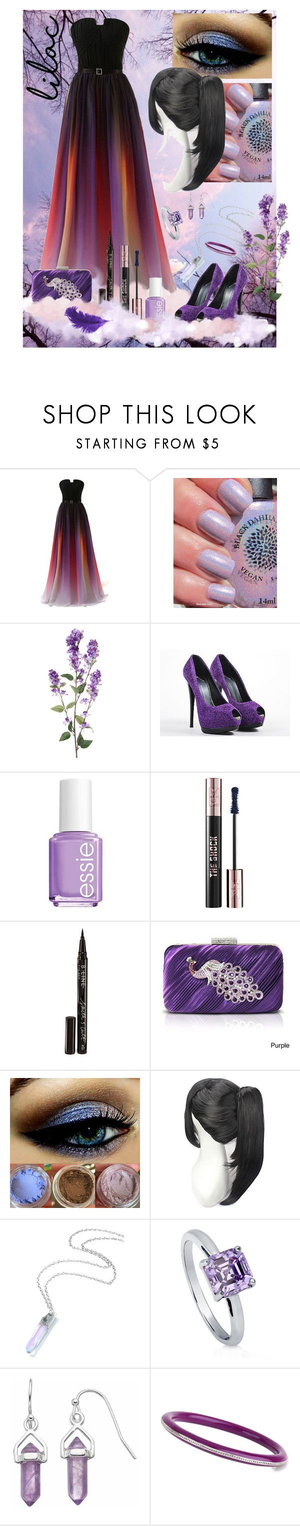 """047 Lilac Dreams"" by berry2206 on Polyvore featuring Mode, Giuseppe Zanotti, Essie, Yves Saint Laurent, Smith & Cult, Jacki Design, BERRICLE und Miriam Salat"