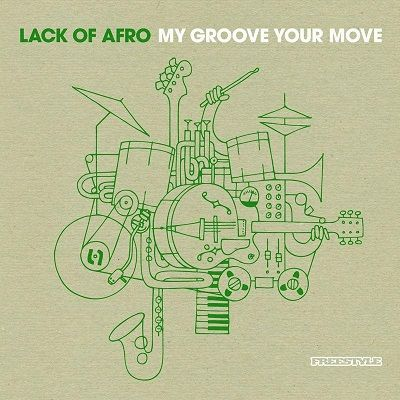 My Groove Your Move. Autor: Lack Of Afro. Edición: 2009. Discográfica: Freestyle Records. (FSR CD034) Género: R&B. Estilos: Nu-Funk; Rap Alternativo; Breakbeat; Soul; Downtempo; Nu-Pop.