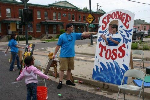 Image Result For Sponge Toss Carnival Game Homecoming