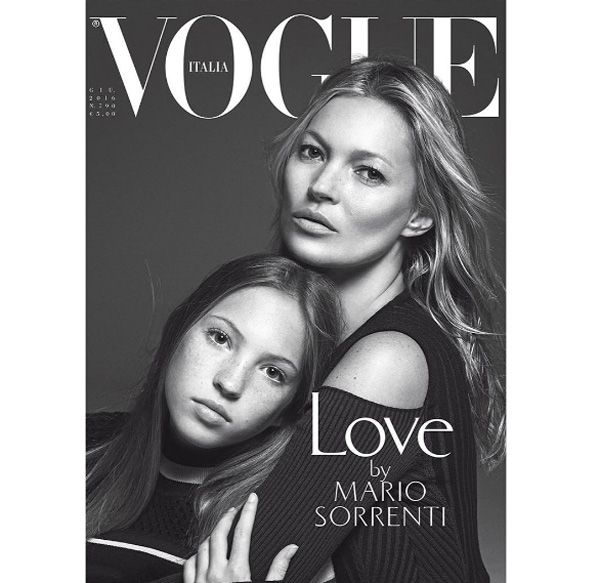 ケイト・モス(42)が愛娘のライラ・グレイス(13)とツーショットでVOGUE誌の表紙を飾り、「似すぎ!」と話題を呼んでいる。     イタリア版VOGUE誌の表紙を親子で飾ったケイトとライラ・グレイス。撮影は、モデルとして活躍し始めた頃からケイトを撮り続けている大御所マリオ・ソレンティ。VOGUEイタリア