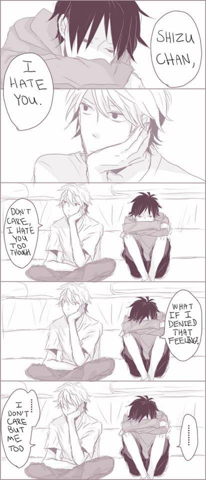 izaya and shizuo relationship counseling
