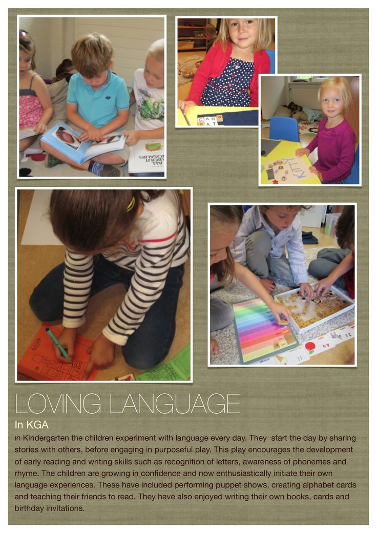 a document panel about language learning