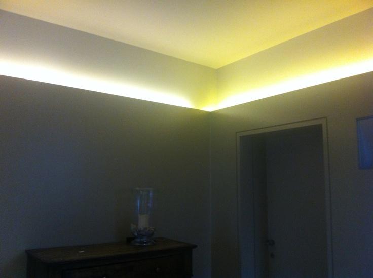 Living Room - Warm White and White LED Strip Mix   LEDsky