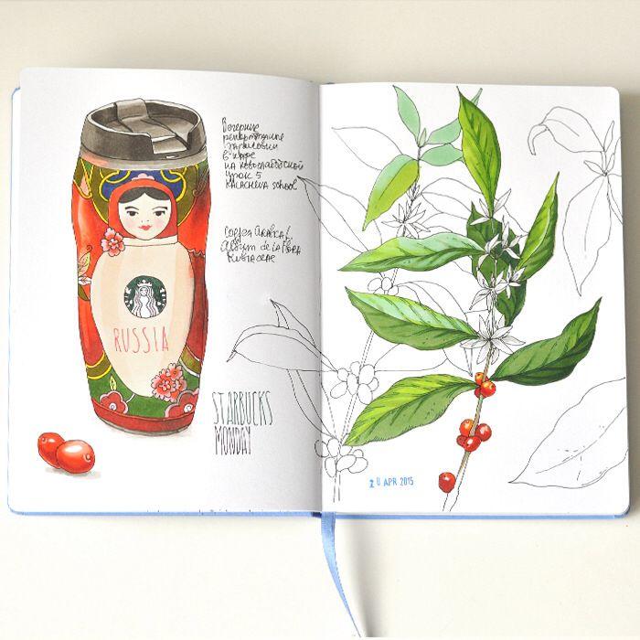 Anna Rastorgueva - Sketchbook
