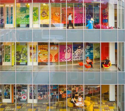 Design inspiration - Cartoon network offices
