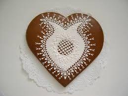 srdce z perníku