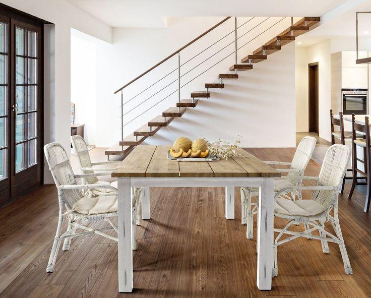 Tavolo Allungabile Ikea Bianco Rendreaz