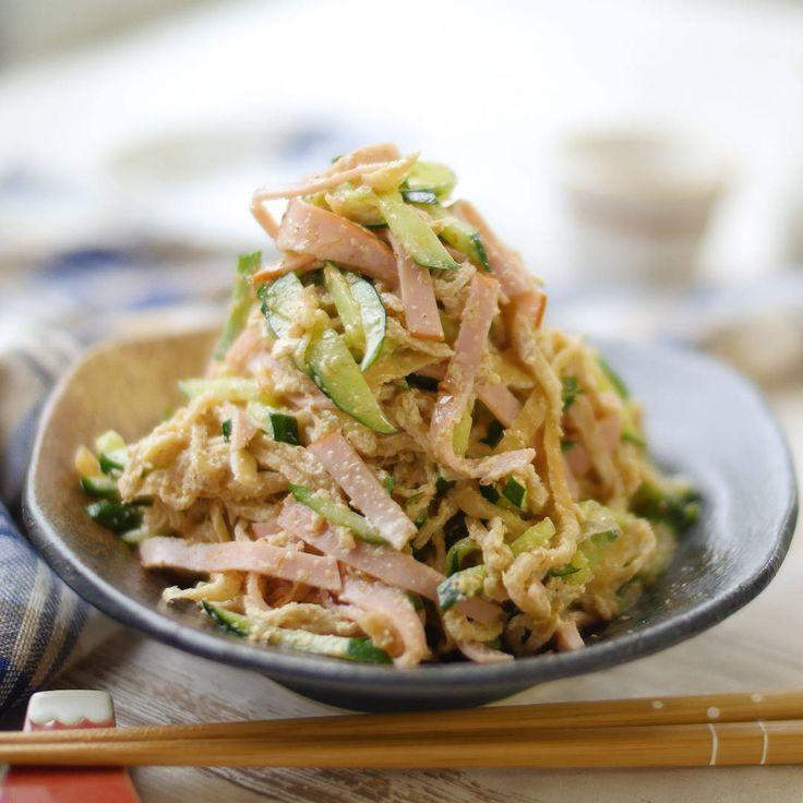 クセになるおいしさ!切り干し大根のごまマヨサラダ - macaroni