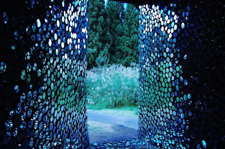 mirrorsHouse Covers, Artists Harumi, Art Festivals, Mirrors House, Harumi Yukutak, Gardens Art, Gardens House, Beautiful Portal, Beautiful Things