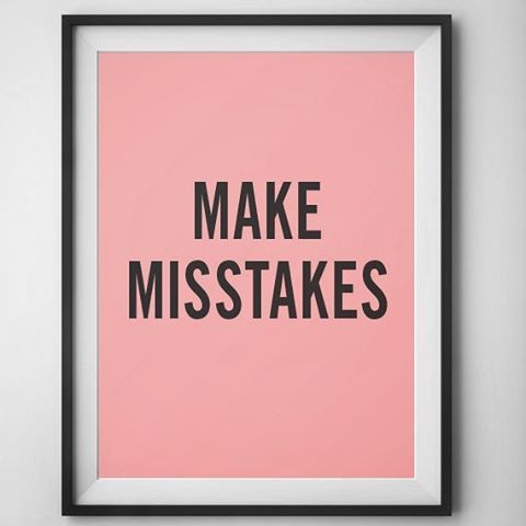 Make #mistakes .... or something like that. (#seewutididthere) let others know you aren't afraid to #try with this #coral & #pink typeset poster from our #etsy shop. --- #etsyprint #design #homemade #diy #minimalism #minimalist #minimal #minimalistic #photooftheday #instaminim #simple #simplicity #keepitsimple #minimalplanet #love #instagood #minimalhunter #minimalista #beautiful #art #lessismore
