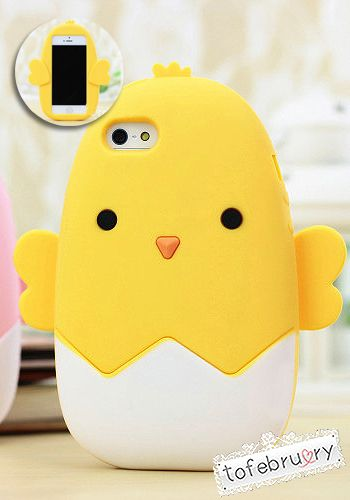 Baby Chick Silicone Case for iPhone 5/5S