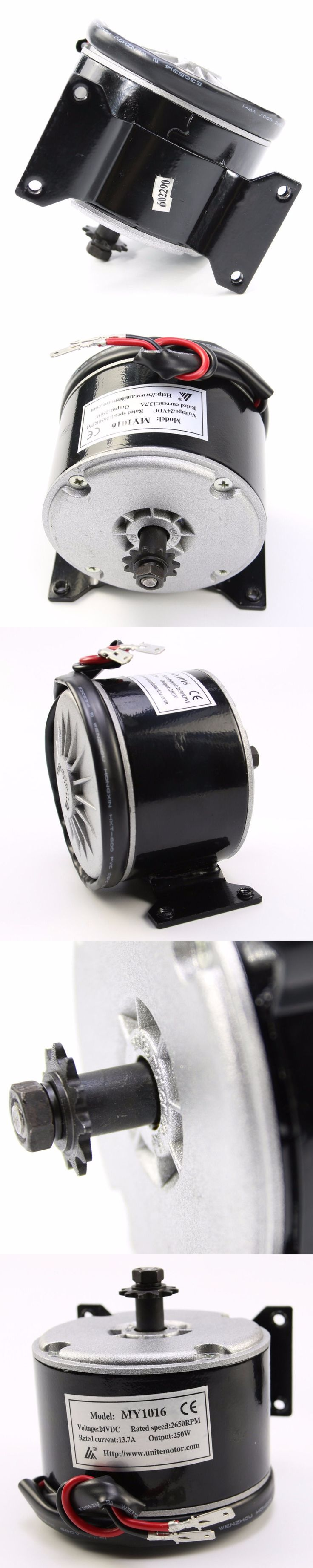 24V250W Electric Motor 2750rpm 11T teeth 25H Chain Electric DC Motor E-SCOOTER MY1016