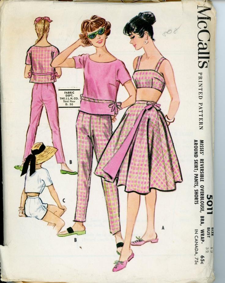 McCalls 5011   via Vintage Pattern Wiki.