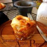 Caramel Apple Popovers! | Fall Foods | Pinterest | Apples