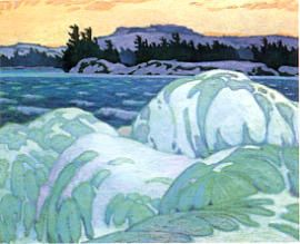 A.J. Casson: Ice Hummocks