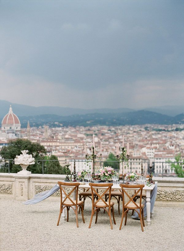 romantic-rooftop-elopement-inspiration-in-florence-15 | Ruffled