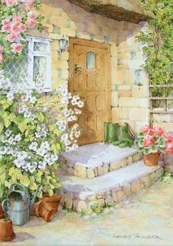 145 Best Images About Storybook Cottage In Art On Pinterest