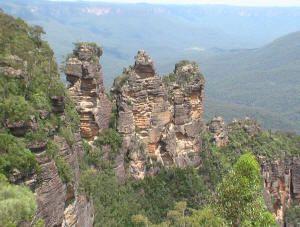 3 Sisters Blue Mountains Australia tour in Jamison Valley Near Katoomba NSW