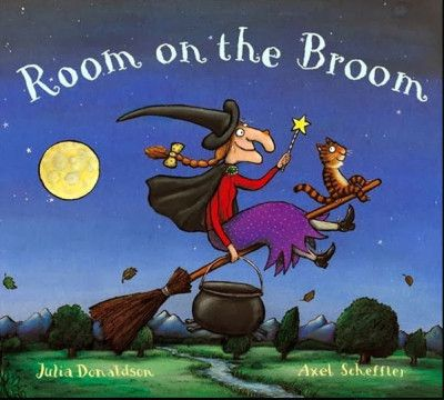 "Libri in inglese a tema Halloween - ""Room on the Broom"""