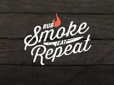 Rub, smoke, eat and repeat! May is National BBQ Month :)