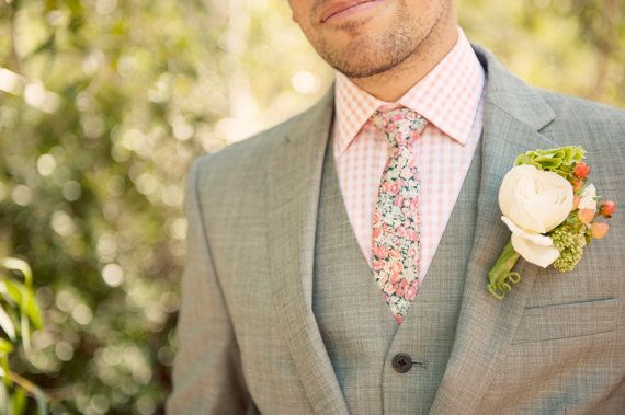 **Tie shown in first photo is Pink #1  Photo by Ashley Maxwell Photography    Gorgeous hand sewn custom neckties made from iconic UK based Liberty