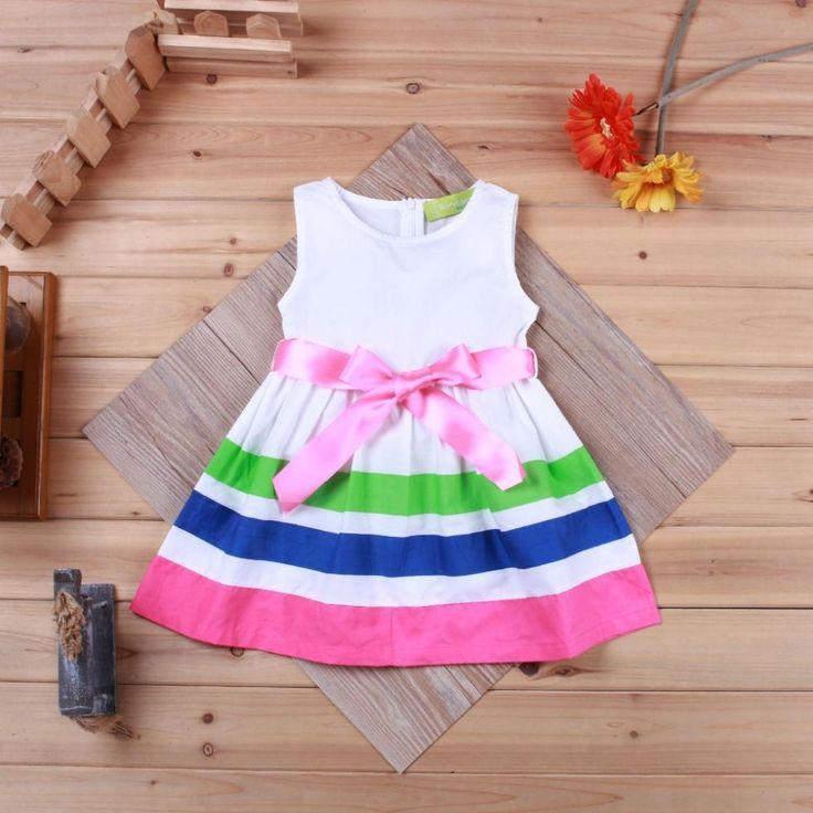 Cheap 2.014 niños de rayas vestido de verano / mangas de los bebés se visten / vestido de bebé Venta caliente, Compro Calidad Vestidos directamente de los surtidores de China:              Nombre del producto : vestido de bebé    Tamaño: 80 , 90 , 100
