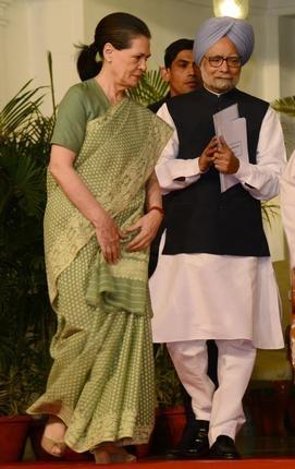 Sonia gandhi &Dr.Manmohan Singh