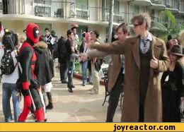 doctor-who :: tv shows :: Deadpool :: tv :: cosplay :: gif / funny pictures & best jokes: comics, images, video, humor, gif animation - i lol'd