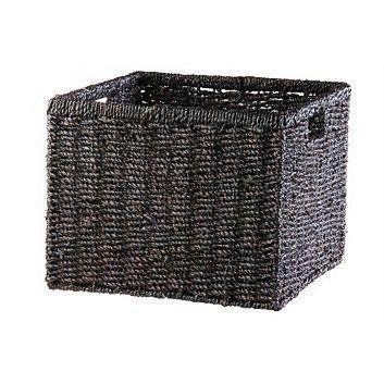 Briscoes - Seagrass Square Coffee Storage Basket