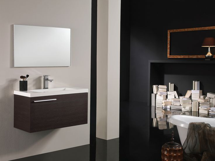 Lisboa Wenge Vanity available as a flat pack including basin and mirror! See our sale catalogue for pricing.