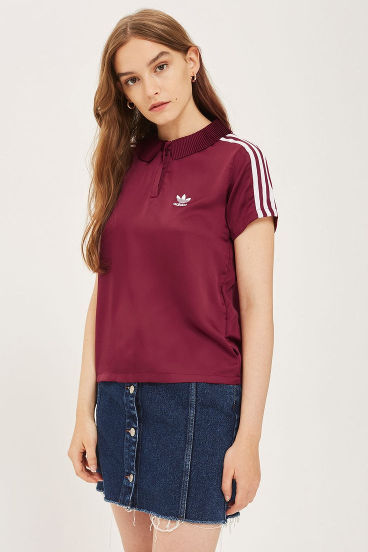 3 Stripe Polo Shirt by adidas Originals - New In Fashion - New In - Topshop Europe