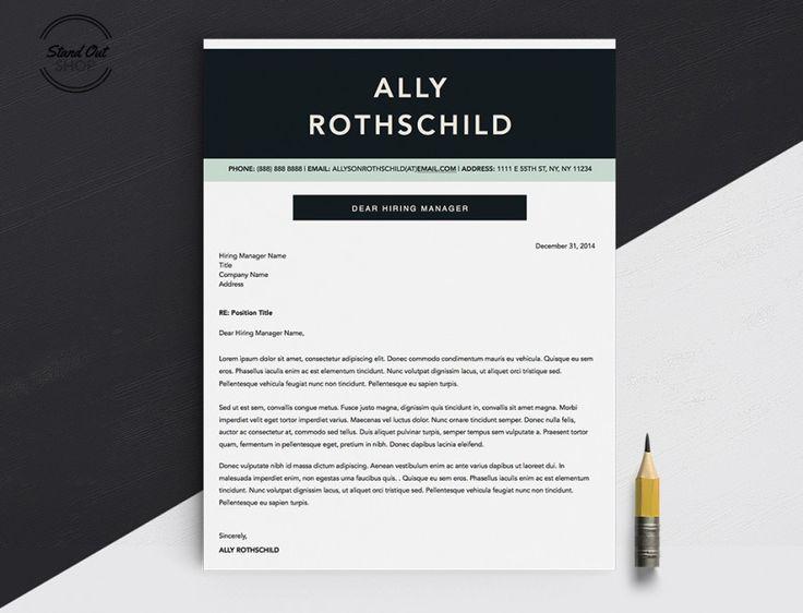 8 best Ally Rothschild Resume Template images on Pinterest - resume template apple