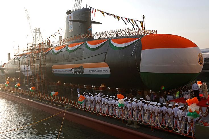 Indian Navy launched INS Karanj which strengthen their squad to fight with their enemies & to defeat them under the sea within seconds.