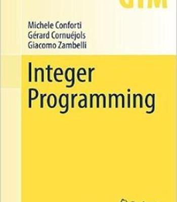 Integer Programming PDF