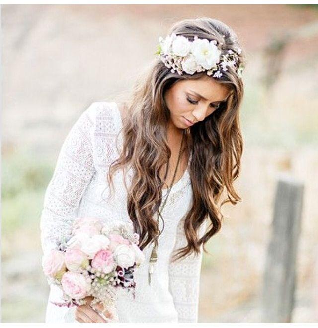 Flower Crown Wedding Accessories Pinterest Flower
