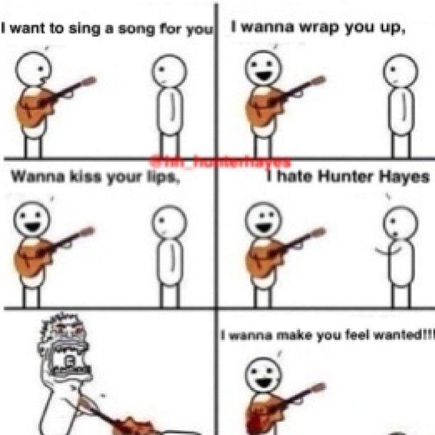 EVERYBODY LOVES HUNTER HAYES!!!!!!!
