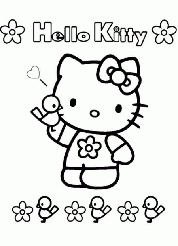 50 best Ausmalbilder Hello Kitty images on Pinterest | Hello kitty ...